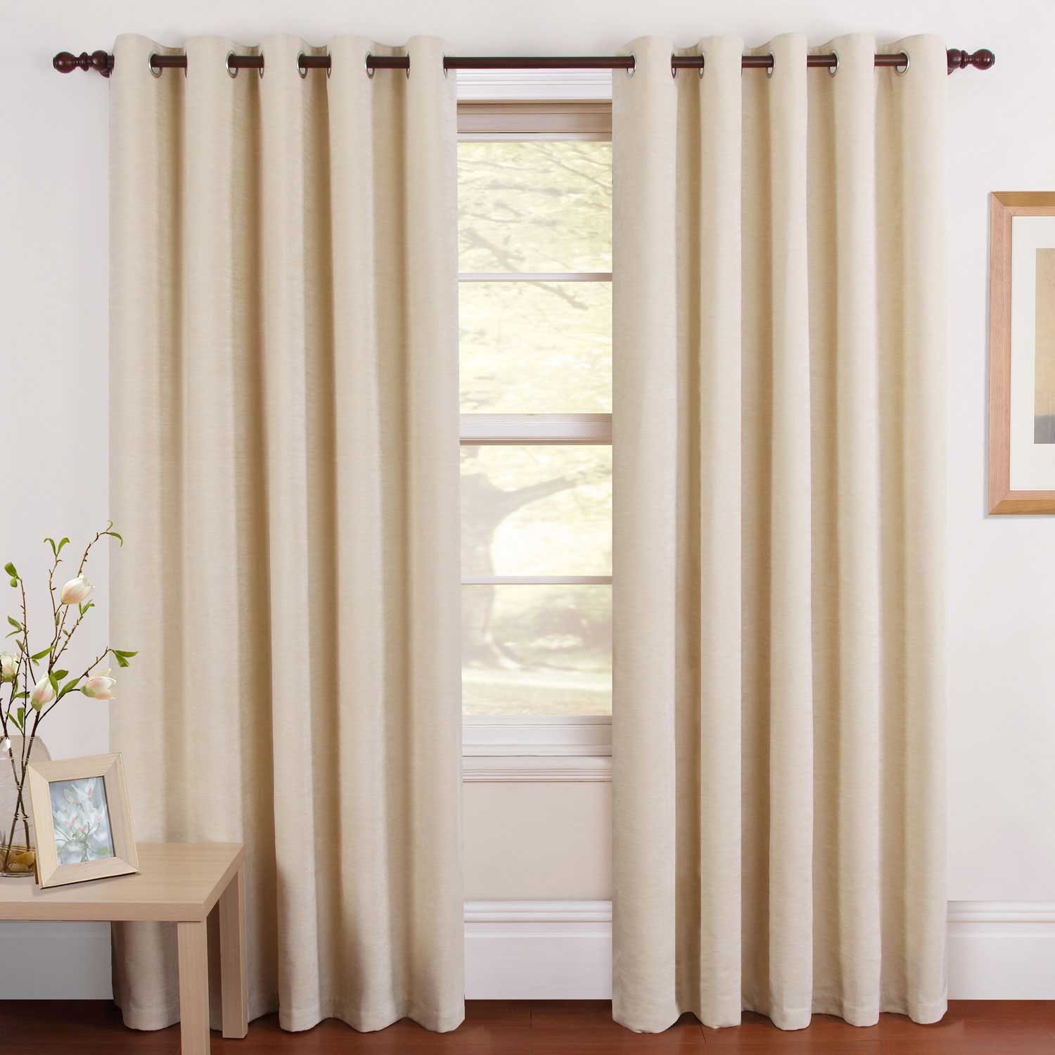 Lumatex india for Contemporary kitchen curtains ideas